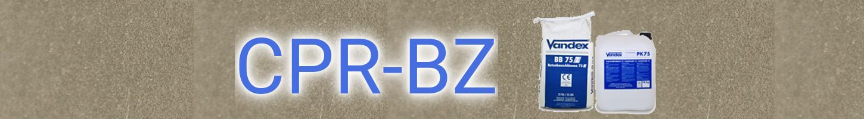 無機質系耐酸防水防食材 CPR-BZ